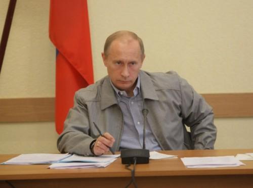 Путин : В России рекордный урожай зерна