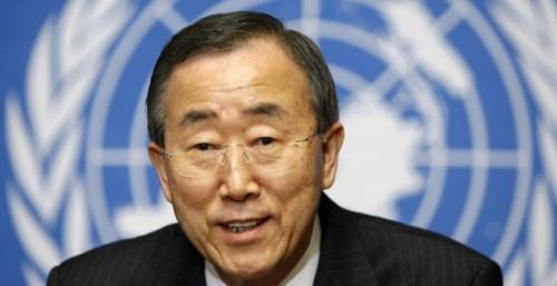 Генсек ООН Пан Ги Мун отказался смотреть матч с командой России