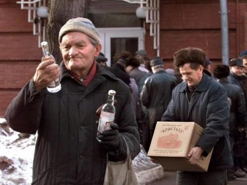 Снижение продаж водки губительно для российского бюджета