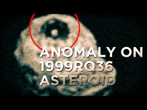Черная пирамида, находящаяся на астероиде, приближается к Земле