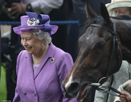 Любимую лошадь королевы Елизаветы уличили в приеме наркотиков