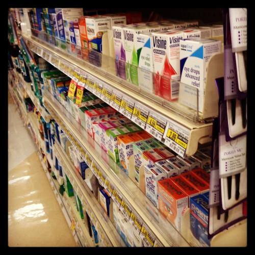 Лекарства можно будет покупать в супермаркетах