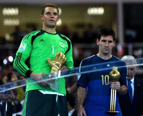Разочарование от проигрыша сборной Аргентины для Месси не скрашено даже получением Золотого мяча