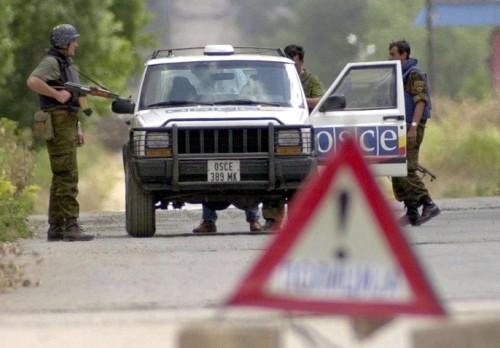 ОБСЕ сообщило, что тела погибших в авиакатастрофе под Торезом находятся в вагонах-рефрижераторах