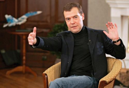 Дмитрий Медведев очень бы хотел продавать российские товары в Евросоюзе