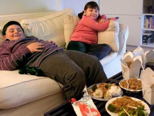 Через 10 лет Землю охватит эпидемия детского ожирения
