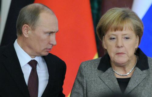 Ангелу Меркель благодарят словами «Спасибо, фрау Розентроп»