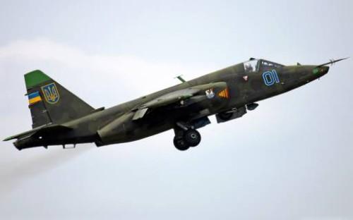 СНБО : Самолеты Су-25 предположительно сбиты с российской территории