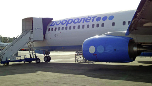 Европейские санкции закрывают небо для самолетов «Добролета»