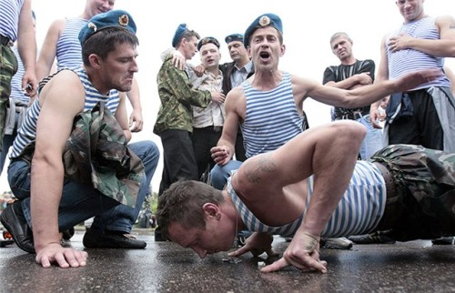 В День десантника в Москве будет частично перекрыто движение транспорта