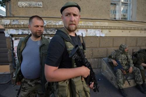 Лидер ДНР Бородай, бежавший в Россию при окружении Донецка, вновь появился в городе