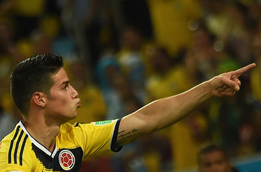 James Rodriguez World Cup Haircut Lines