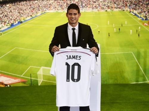 Футболка Хамеса Родригеса бьет все рекорды продаж в истории мирового футбола