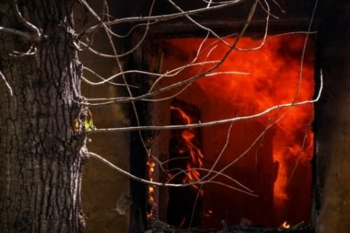 Пожар в Долгопрудном