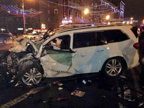 Авария на Киевском шоссе