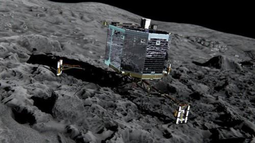 комета Чурюмова – Герасименко признаки жизни