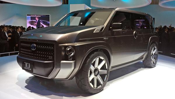 Прототип нового Тойота Crown представлен вТокио