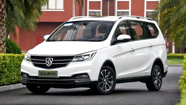 Новый минивэн Baojun 730 появится нарынке вконце осени