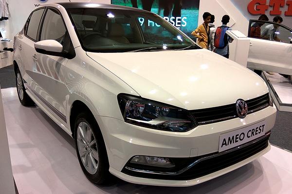 Бюджетный седан VW Ameo получил новейшую версию Sport