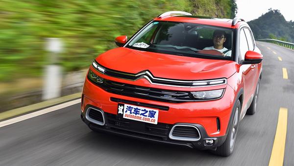 Кроссовер Ситроен C5 Aircross побил рекорды продаж в КНР