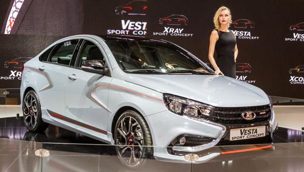 АвтоВАЗ выпустит автомобили Лада Vesta R и Лада Vesta S-Line