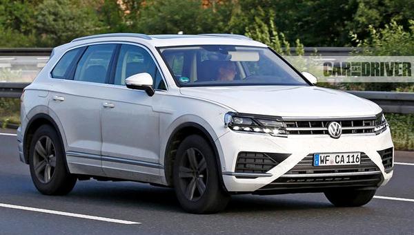 Новый Volkswagen Touareg представят весной 2018 года вКитае