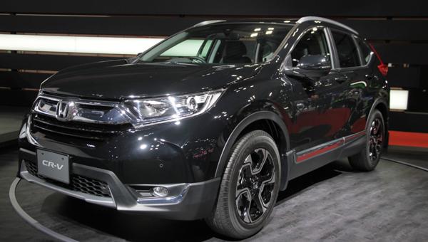 Хонда представила «заряженную» версию кроссовера CR-V Custom Concep