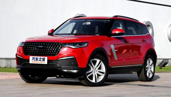 Zotye объявили стоимость «новогоднего» джипа Zotye Т700