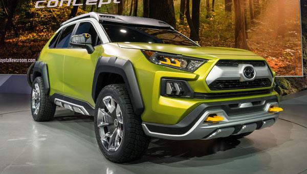 Брутальный вседорожный автомобиль Тойота FT-AC обзаведется серийной версией