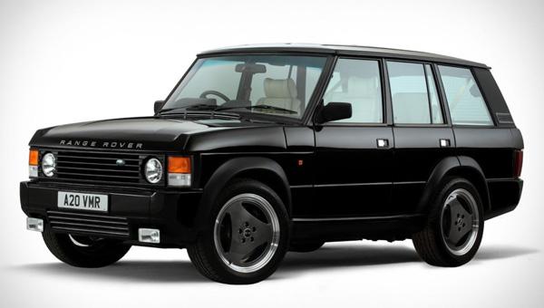 Англичане «переиздали» традиционный Range Rover с6,2-литровым компрессорным V8