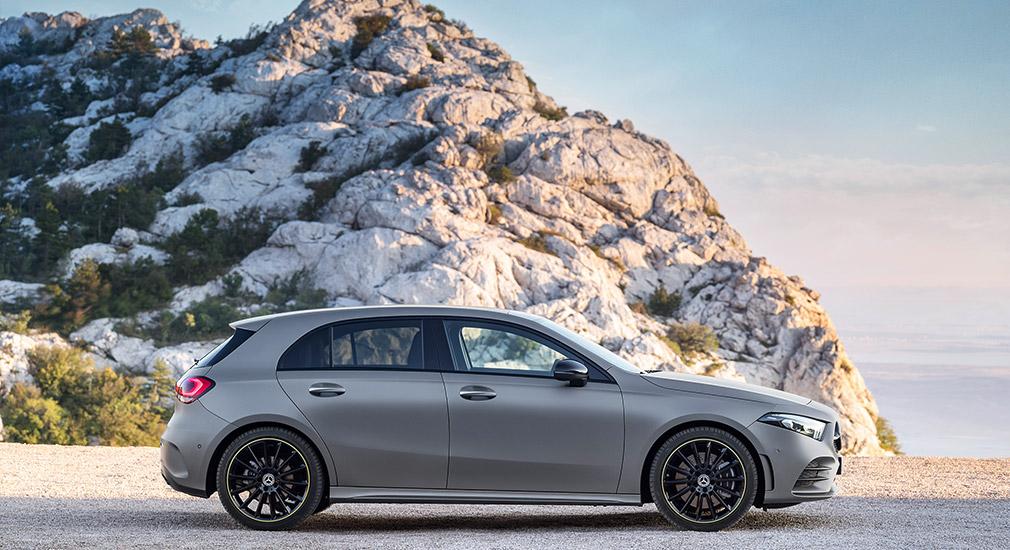Mercedes A-Class обновленного поколения был представлен официально