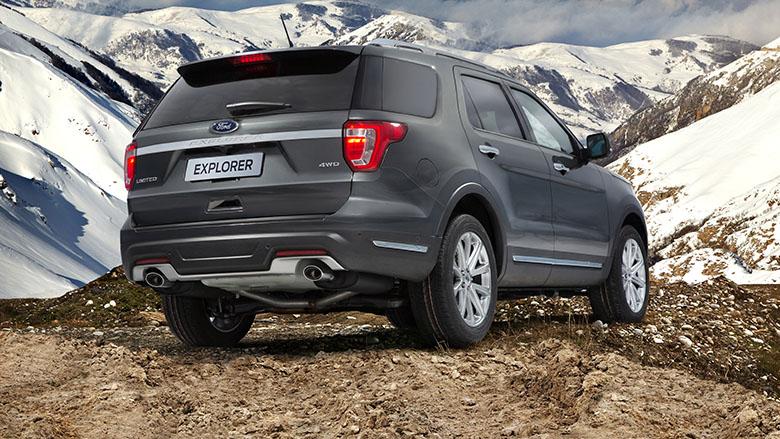 Кроссовер Форд Explorer для русского рынка стал дешевле после обновления