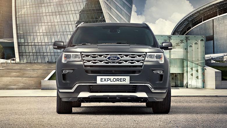 Форд назвал русские цены на улучшенный Explorer