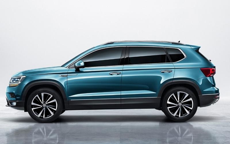 VW рассекретил дизайн кроссовера Tharu для РФ
