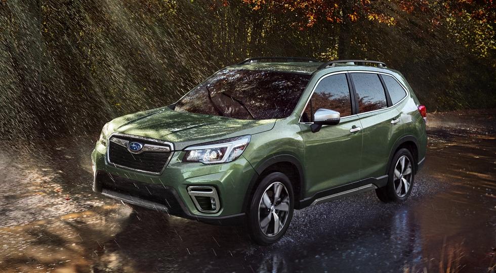 Кроссовер Subaru Forester нового поколения получил ОТТС для России