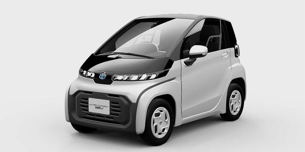 Toyota представила идеальный для города электрокар